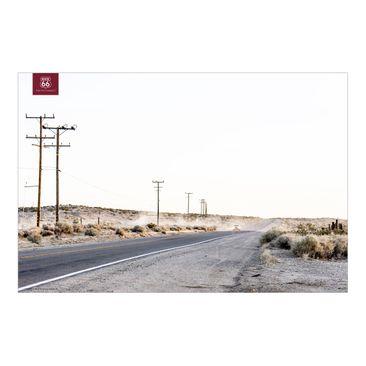 Produktfoto Fototapete Premium - Route 66 - On the Road - Fototapete Breit