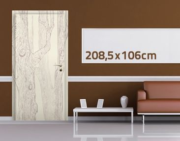 Product picture Door Wall Mural no.MW20 Living Forest