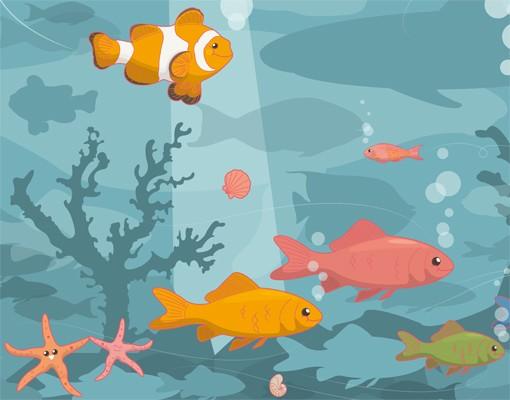 Produktfoto Selbstklebendes Wandbild No.EK57 Meereslandschaft