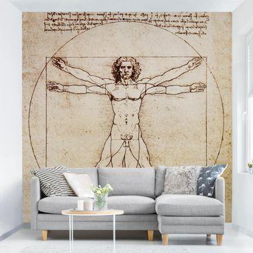 Produktfoto Tapete selbstklebend - Da Vinci - Fototapete Quadrat