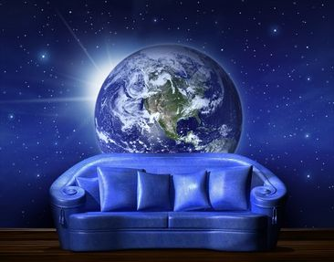Product picture Photo Wall Mural Earth Into The Space