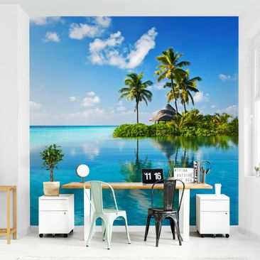 Product picture Photo Wall Mural - Tropical Paradise -...