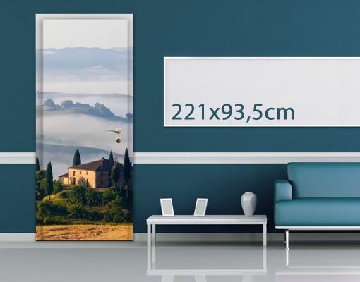 Produktfoto TürTapete Landgut in der Toskana