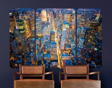 Produktfoto Wall Mural Midtown Manhattan Triptych II