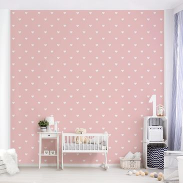Product picture Photo Wall Mural - No.YK59 White Hearts...