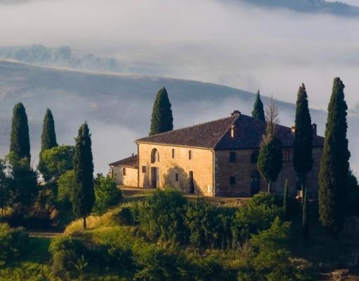 Produktfoto Fliesenbild Landgut in der Toskana