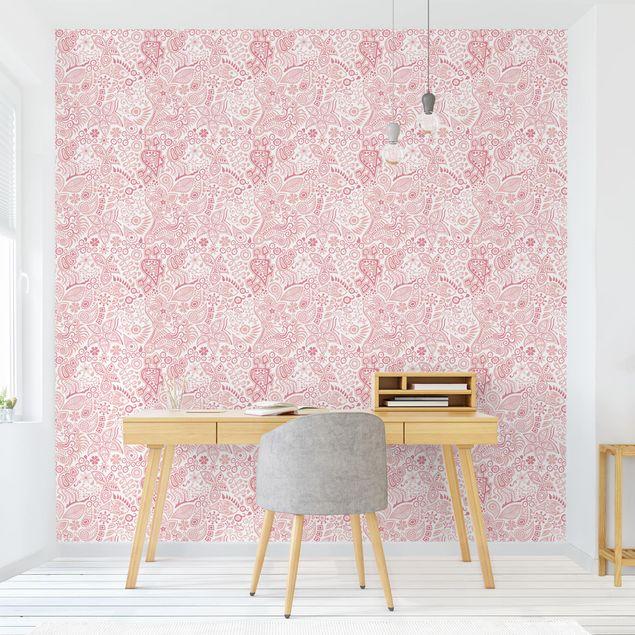 Produktfoto Tapete selbstklebend - Evas Garten - Fototapete Quadrat