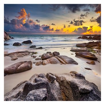 Product picture Photo Wall Mural - Sunrise Beach In...