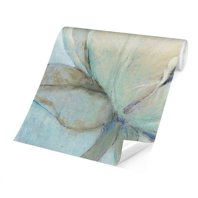 Produktfoto Tapete selbstklebend - Englische Rose Pastell - Fototapete Quadrat