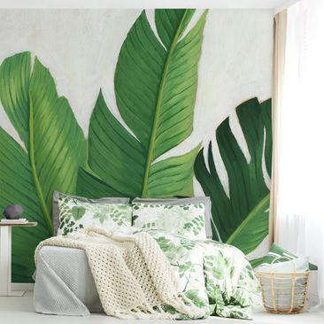 Immagine del prodotto Carta da parati adesiva fiori - Piante preferite - Banano - Formato quadrato