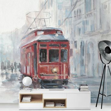 Product picture Photo Wall Mural - Tram Study II -...