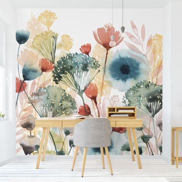 Product picture Photo Wall Mural - Wild Flowers In...