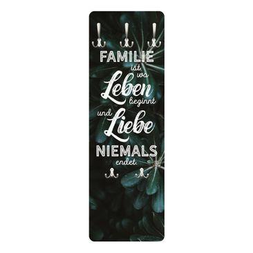 Produktfoto Garderobe - Tropical - Familie ist
