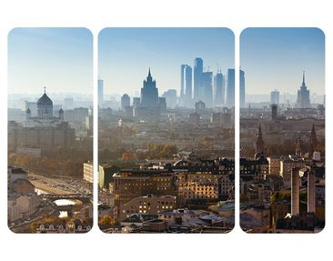 Product picture Wall Mural Moscow Triptych II