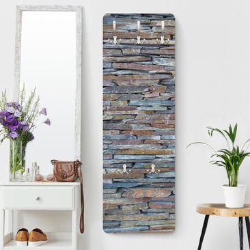 Immagine del prodotto Appendiabiti effetto pietra - Muri di pietre colorate