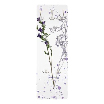 Produktfoto Garderobe - Botanisches Aquarell - Glockenblume