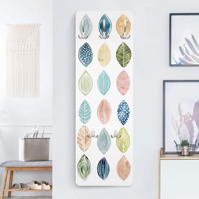 Produktfoto Garderobe - Gemusterte Blätter II