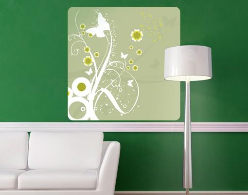 Produktfoto Selbstklebendes Wandbild Tanzende Schmetterlinge