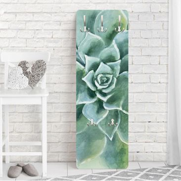Immagine del prodotto Appendiabiti - Succulente Acquerello scuro