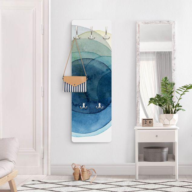 Produktfoto Garderobe - Urknall - blau