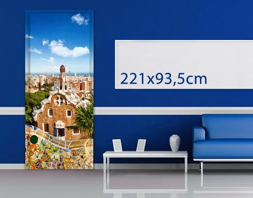 Produktfoto TürTapete Barcelona