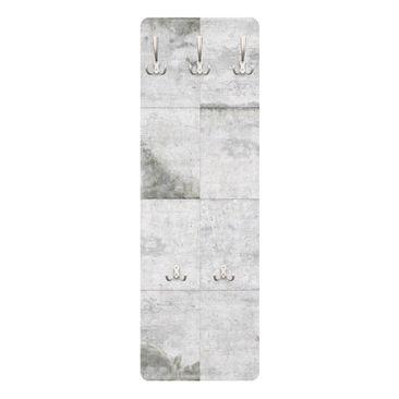 Immagine del prodotto Appendiabiti effetto pietra - Grandi lastre di cemento