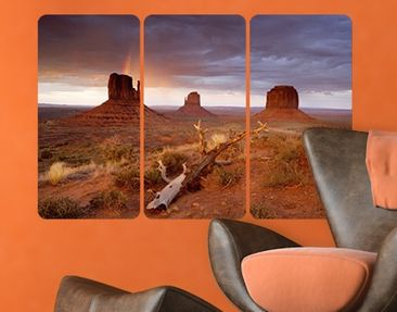 Produktfoto Wall Mural Monument Valley At Sunset...