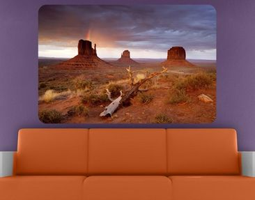 Product picture Wall Mural Monument Valley At Sunset