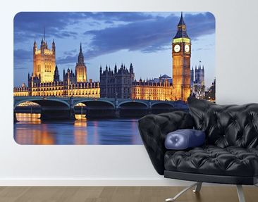 Produktfoto Wall Mural London At Night