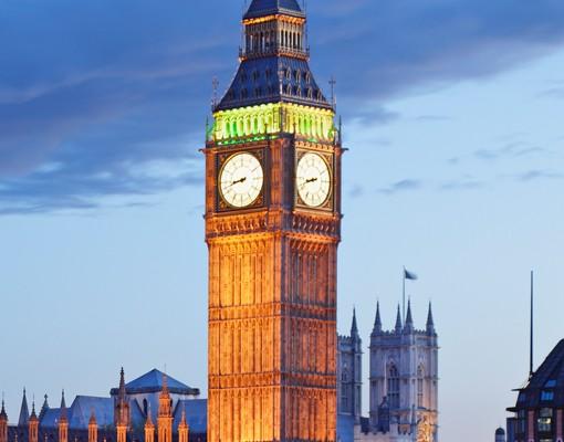 Produktfoto Fliesenbild London bei Nacht