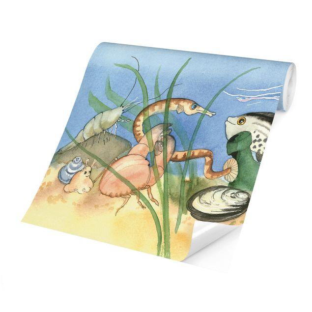Produktfoto Selbstklebende Tapete Kinderzimmer - Die kleine Seenadel© Meerestreiben - Fototapete Querformat
