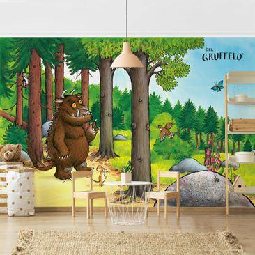 Produktfoto Tapete selbstklebend - Grüffelo - Waldspaziergang - Fototapete Querformat
