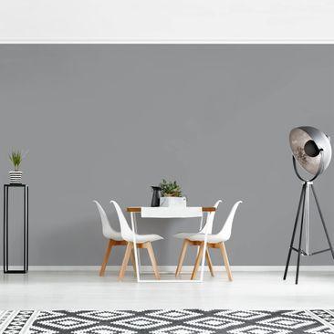 Produktfoto Tapete selbstklebend - Colour Cool Grey - Fototapete Querformat