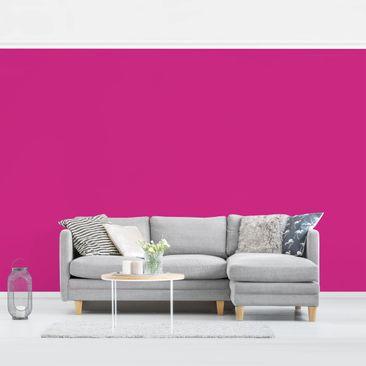 Produktfoto Tapete selbstklebend - Colour Pink - Fototapete Querformat