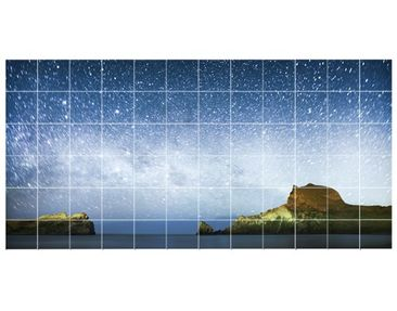 Product picture Tile Mural Starry sky