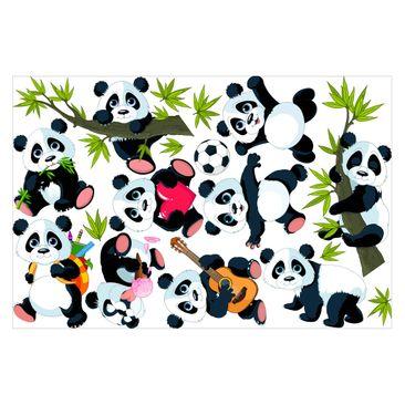 Product picture Window Sticker - Panda Bear Mega Set