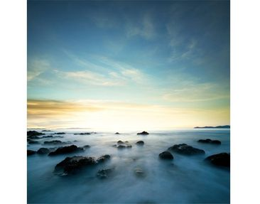 Product picture Tile Mural Sunset over the ocean