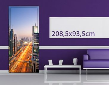 Product picture Door Wall Mural Dubai I