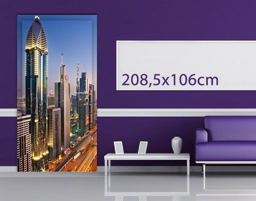 Produktfoto TürTapete Dubai II