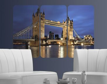 Produktfoto Wall Mural Tower Bridge At Night...