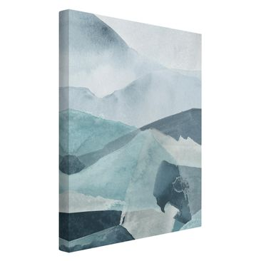 Product picture Canvas Art - Weighed In Blue III -...