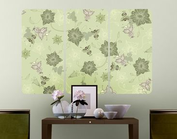 Product picture Wall Mural Microcosm Triptych I