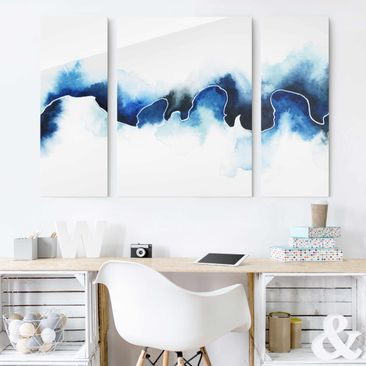 Product picture Print on Glass - Glacial Break - 3pcs....