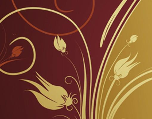 "Produktfoto Papiertapete - Fototapete No.155 ""GLAMOROUS FLOWERS"" 400x280cm"