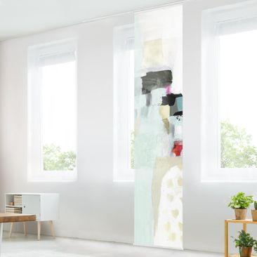 Immagine del prodotto Tenda scorrevole set - Cascate colorate I - Pannello