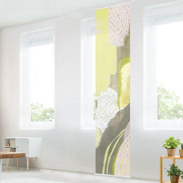 Immagine del prodotto Tenda scorrevole set - Macchie solari I - Pannello