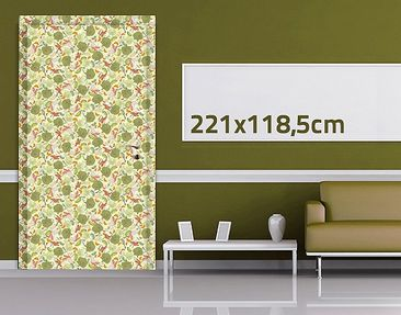 Product picture Door Wall Mural White Lost In Paradise