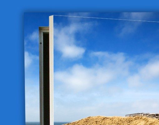 Produktfoto Türtapete Strand - Nordseespaziergang - selbstklebend