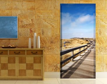 Product picture Door Photo Wall Mural North Sea...