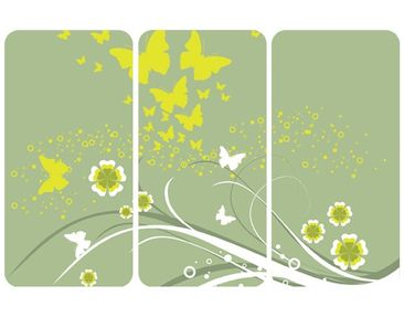 Product picture Wall Mural Butterflies In Spring...